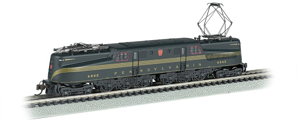 PRR GG-1 #4842 – Brnswck Green 5 Stripe DCC Ready (N Scale)