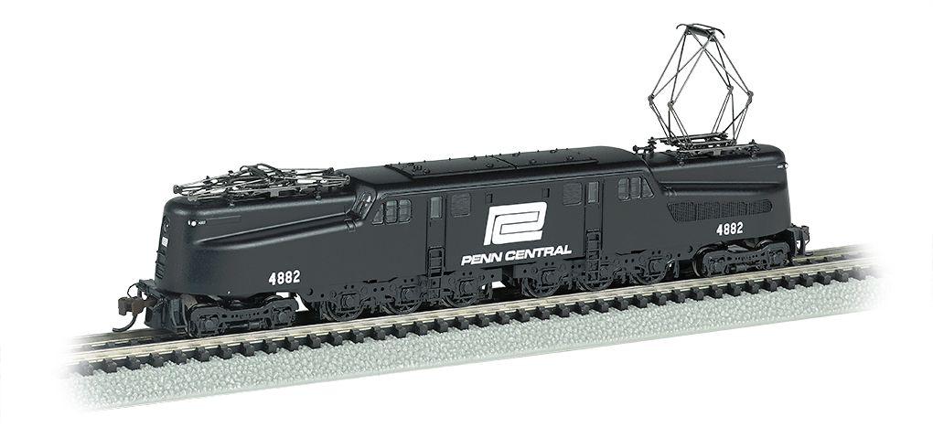 Penn Central GG-1 #4882 – Black & White DCC Ready (N Scale)