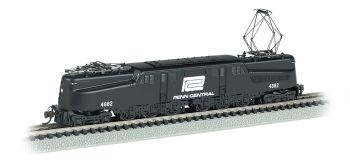 Penn Central GG-1 #4882  Black & White DCC Ready (N Scale)