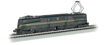 PRR GG-1 #4935  Brunswck Green 5 Stripe DCC Sound (N Scale)