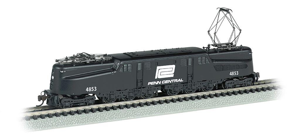 Penn Central GG-1 #4853 – Black & White DCC Sound (N Scale)