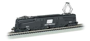 Penn Central GG-1 #4853  Black & White DCC Sound (N Scale)