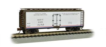 Merchant's Despatch-40' Wood-side Refrigerated Box Car
