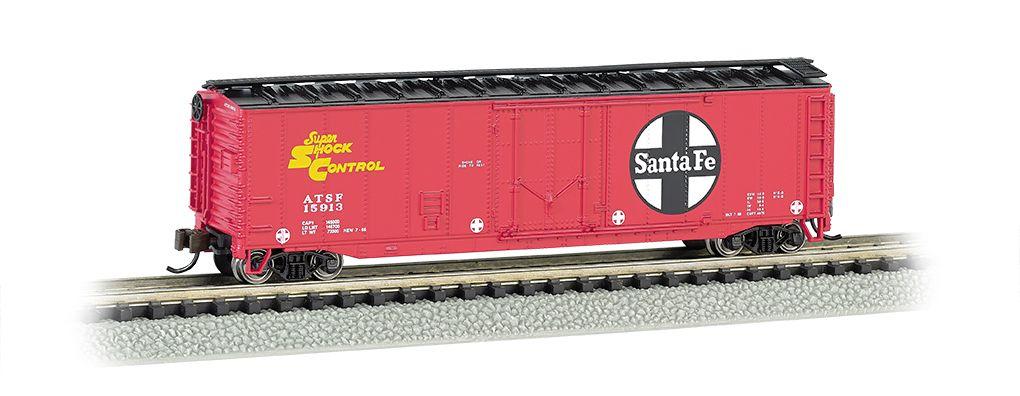 Santa Fe - 50' Plug-Door Box Car