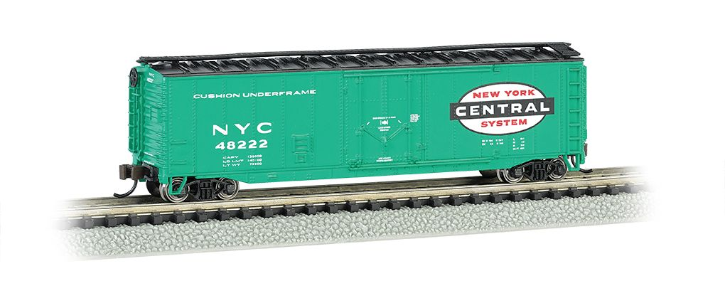 New York Central - 50' Plug-Door Box Car