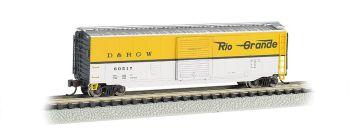 Rio Grande - 50' Sliding Door Box Car