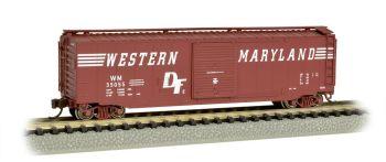 Western Maryland - 50' Sliding Door Box Car