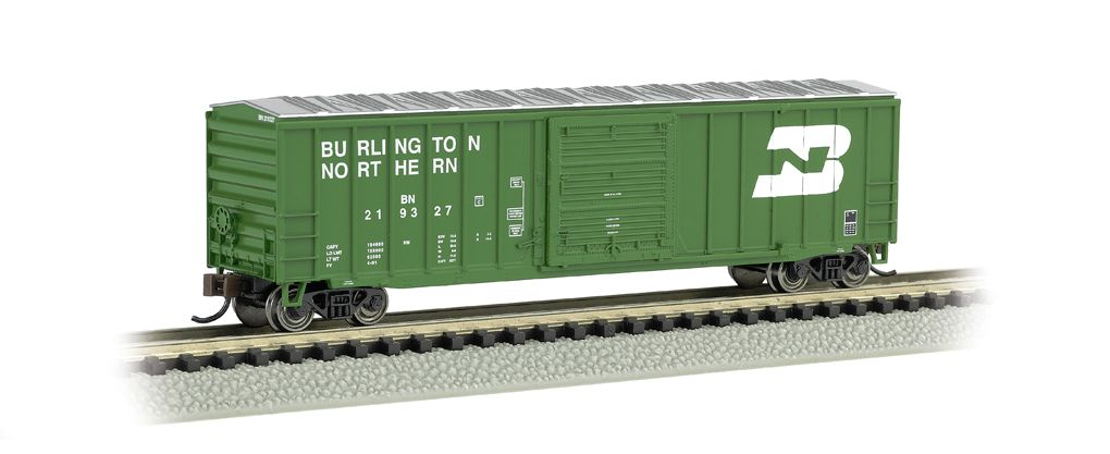 Burlington Northern - ACF 50.5' Outside Braced Box Car