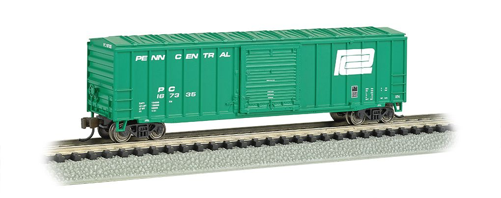 Penn Central - ACF 50.5' Outside Braced Box Car
