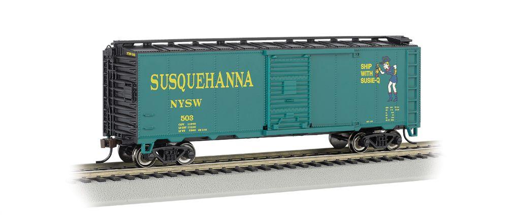 N. Y. S. & W (Suzy Q) - AAR 40' Steel Box Car
