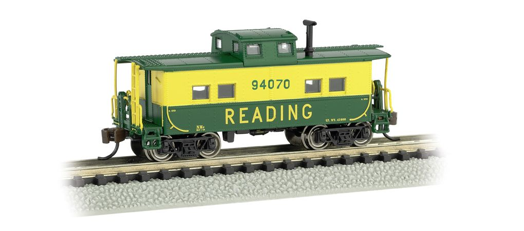 Reading #94070 (Green & Yellow) - NE Steel Caboose