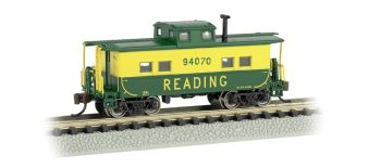 Reading #94070 (Green & Yellow) - NE Steel Caboose
