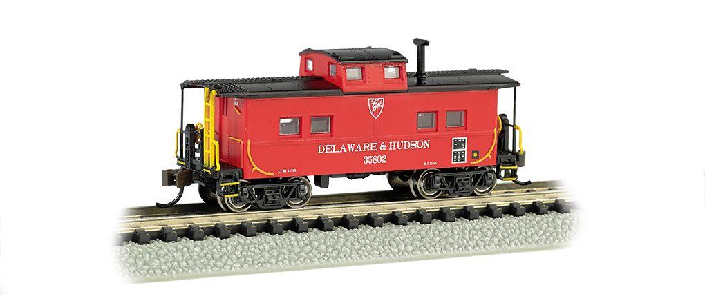 Delaware & Hudson - NE Steel Caboose