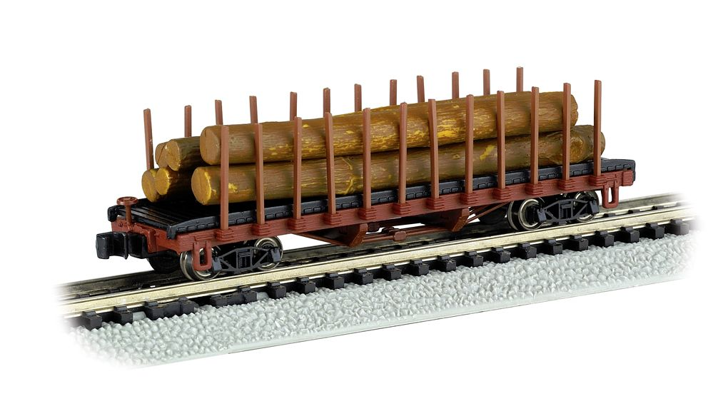 ACF 40' Log Car 1906 - 1935 version