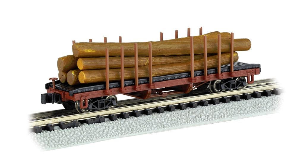 ACF 40' Log Car