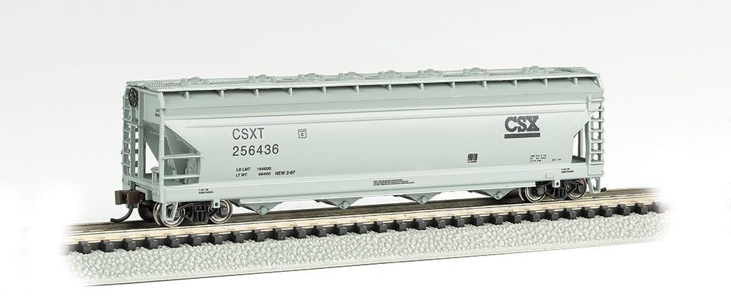 CSX® #256436 - ACF 56' 4-Bay Center Flow Hopper