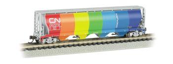 CN - Demonstrator - 4 Bay Cylindrical Grain Hopper