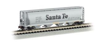 Santa Fe - 4 Bay Cylindrical Grain Hopper