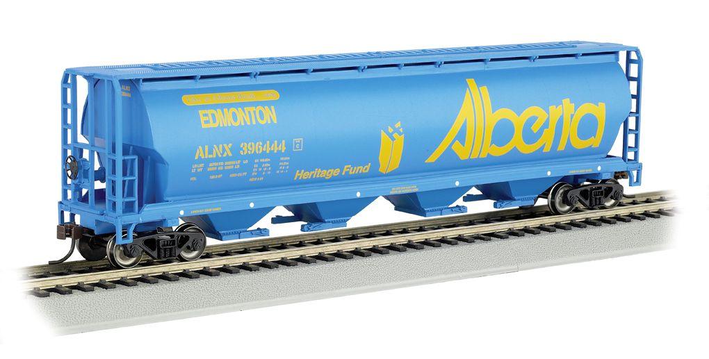 Alberta - 4 Bay Cylindrical Grain Hopper