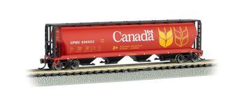 Canada Grain - 4 Bay Cylindrical Grain Hopper