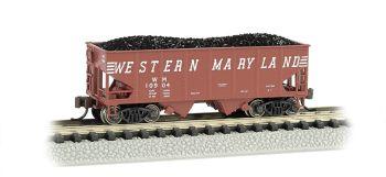 Western Maryland (speed lettering) - USRA 55 Ton 2-Bay Hopper