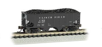 Clinchfield - USRA 55 Ton 2-Bay Hopper