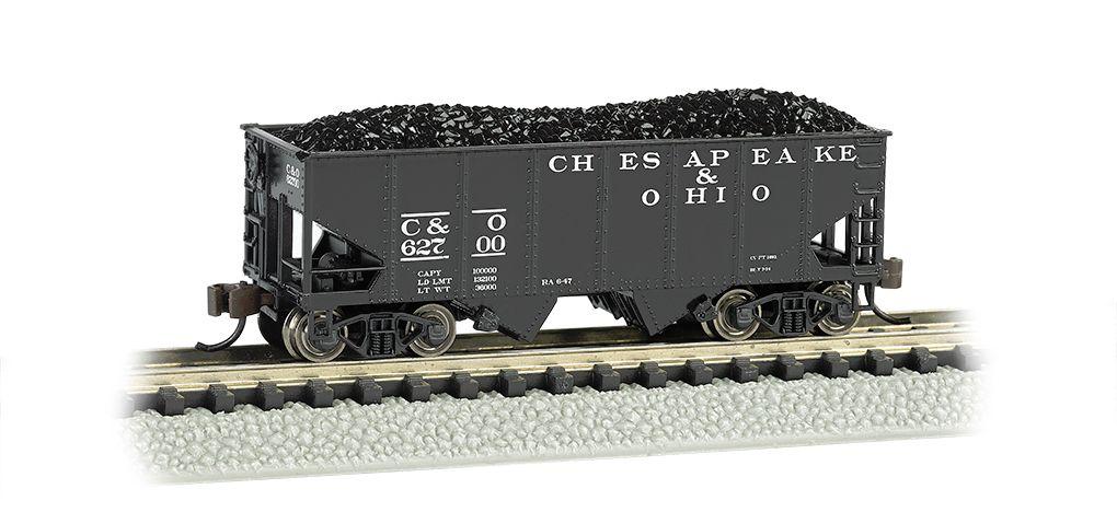 Chesapeake & Ohio® - USRA 55 Ton 2-Bay Hopper
