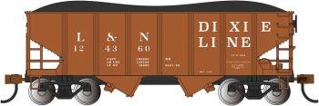 LN - Dixie Line - USRA 55 Ton 2-Bay Hopper