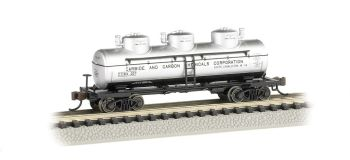 Carbide And Carbon Chemicals - 3-Dome Tank Car