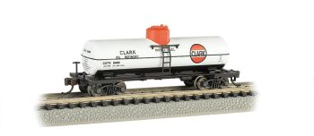 Clark - ACF 36.5' 10K Gal 1-Dome Tank Car
