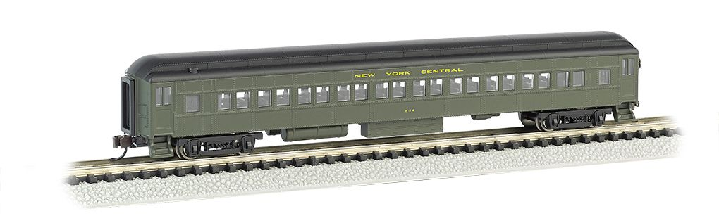 New York Central - 72' Heavyweight Coach With Lighted Interior
