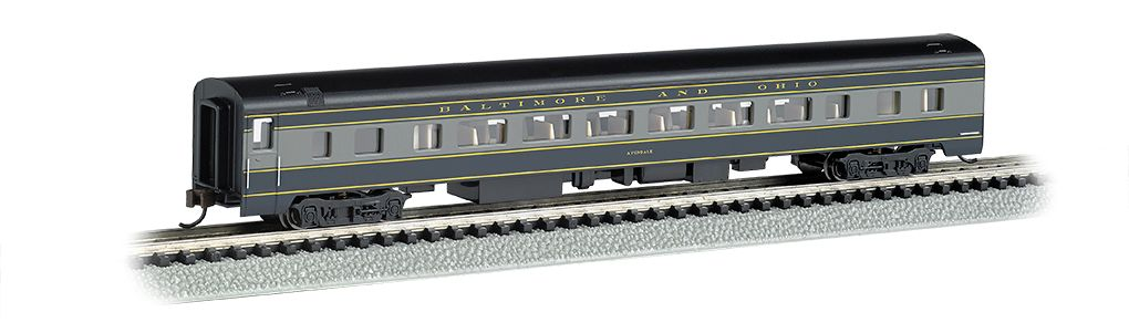 Baltimore & Ohio® - 85ft Smooth-Sided Coach