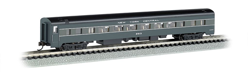 New York Central - 85ft Smooth-Sided Coach