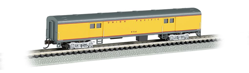 Union Pacific® - 72ft Smooth-Sided Baggage Car