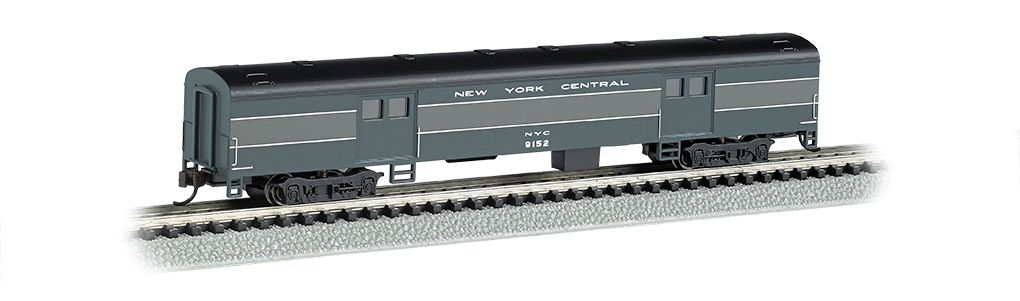 New York Central - 72ft Smooth-Sided Baggage Car