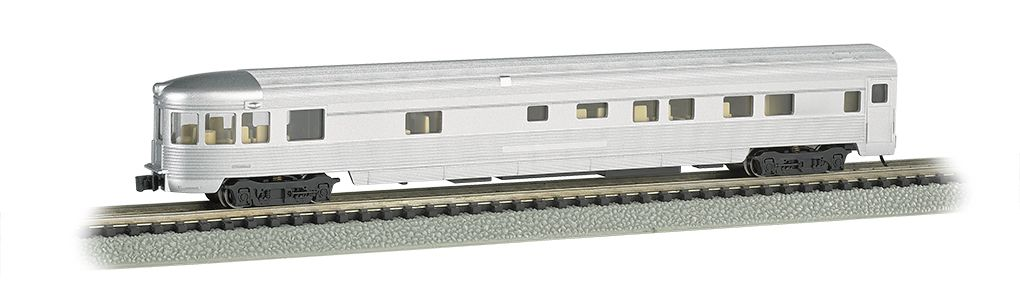 Unlettered Aluminum - 85 FT Observation w/ lighted interior