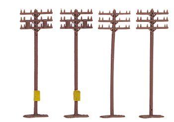 Telephone Poles (12 pieces)
