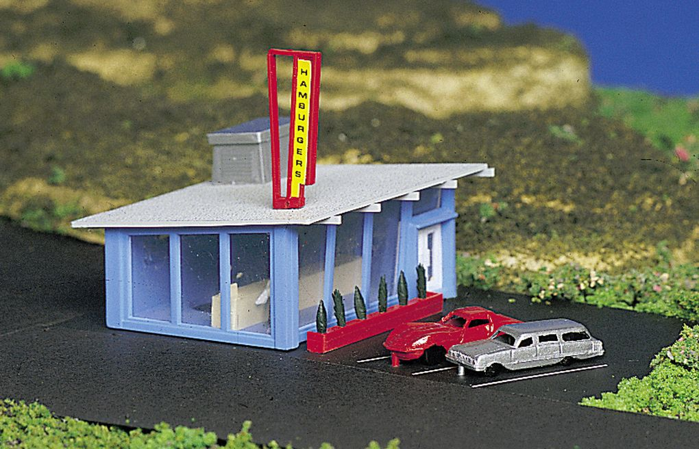Drive-In Burger Stand