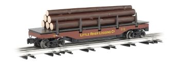 Little River Logging Company - Operating Log Dump Car