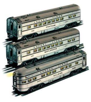 Silver Streak  GM 027 Streamliners  3pk