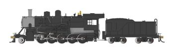 Painted, Unlettered - Black - 2-10-0 Decapod - DCC WowSound