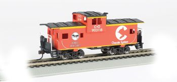 Chessie #903118 - Orange - 36' Wide-Vision Caboose