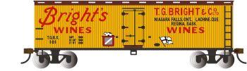 Bright's Wines - 40' Wood-side Refrig Box Car