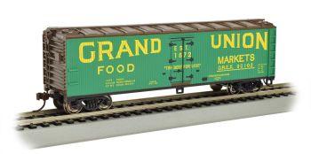 Grand Union - 40' Wood-side Refrigerated Box Car