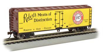 Robert's Meats of Distinction - 40' Wood-side Refrig  Box Car