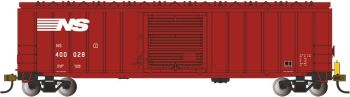 50' Outside Braced Box Car with FRED - Norfolk Southern #40028