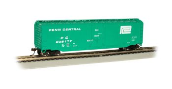 Penn Central #208177 - 50' Plug Door Box Car