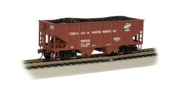 C&NW #61001 - 55-Ton 2-Bay USRA Outside Braced Hopper