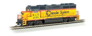 Chessie #4155 - GP40