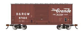 Rio Grande - Hi-Cube Box Car